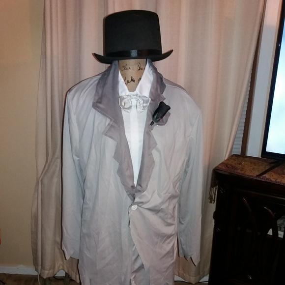 Bride And Groom Halloween Costume.Ghost Groom And Bride Halloween Costume Set